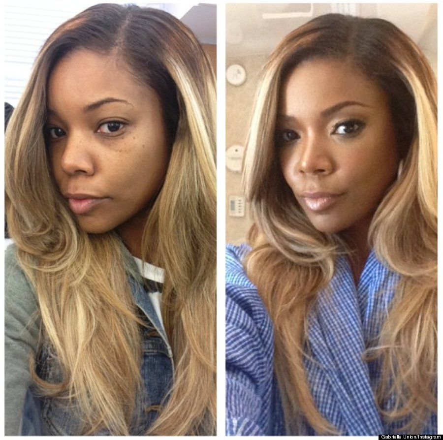 Gabrielle Union Before And After Pics Reveal Her Beautiful