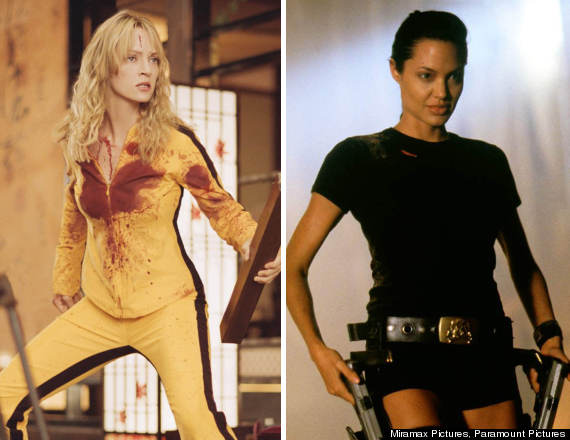 kill bill lara croft