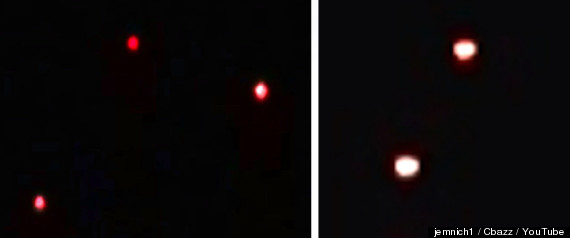 Look Alike UFOs Videotaped Over Missouri And Arizona VIDEO