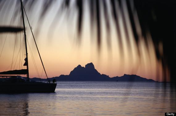 french polynesia sailboat