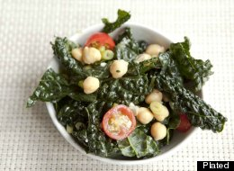 Israeli Chickpea and Kale Salad Recipe