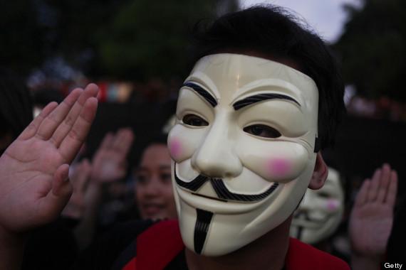 anonymous mask activist