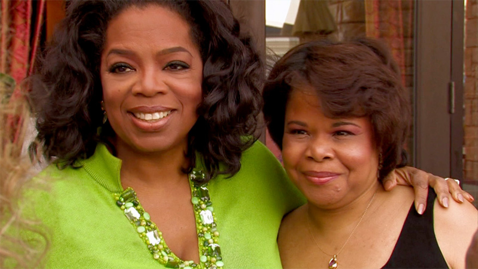 oprah and her sister patricia relationship