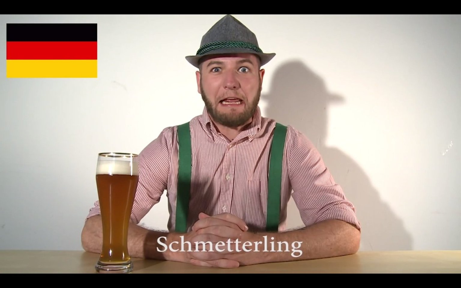 why is usually a language like german which means harsh