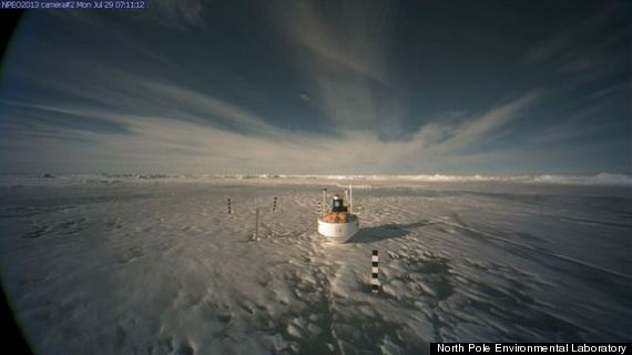 lake north pole