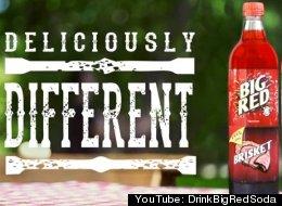 The Big Red BBQ Bottle: Half Soda, Half Meat