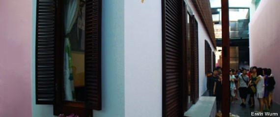 La casa pi stretta del mondo l 39 abitazione un 39 opera d for Piani casa stretta casa