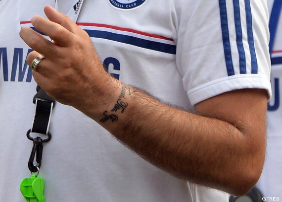 tatuaje mourinho 4