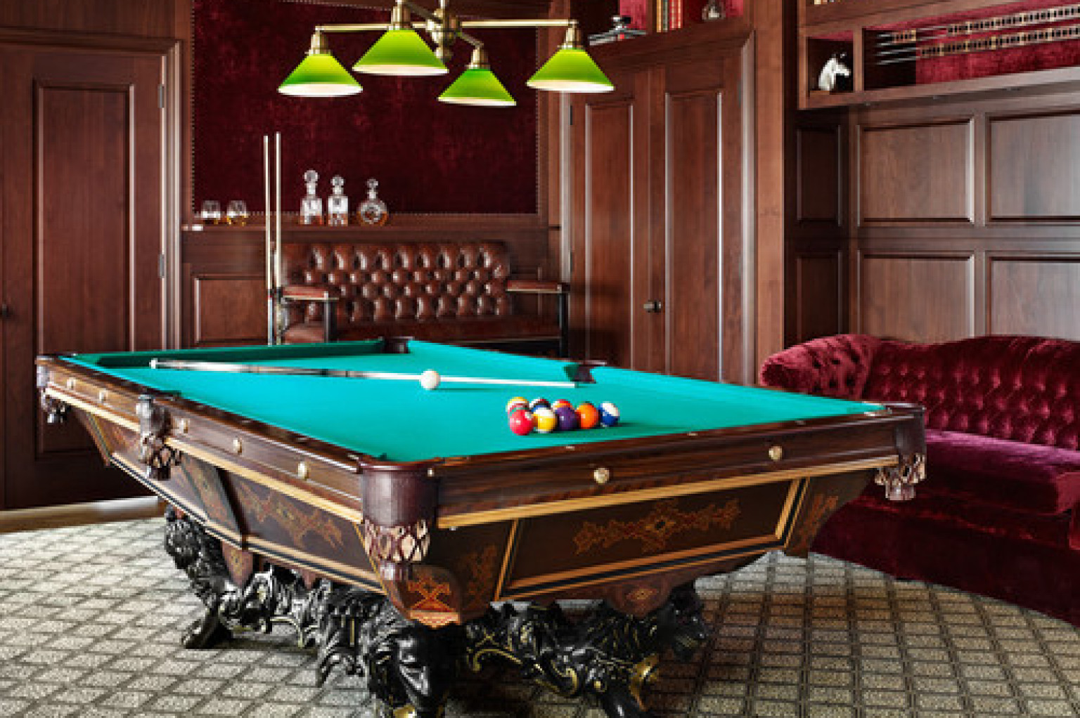 Homes With Amazing Pool Tables That Are Anything But An Eyesore