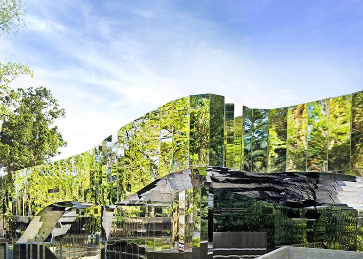 architettura verde come predator nella foresta l