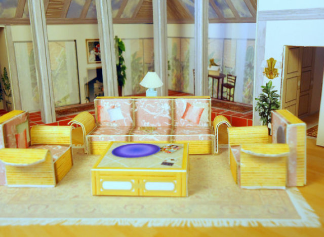 Golden Girls Dollhouse