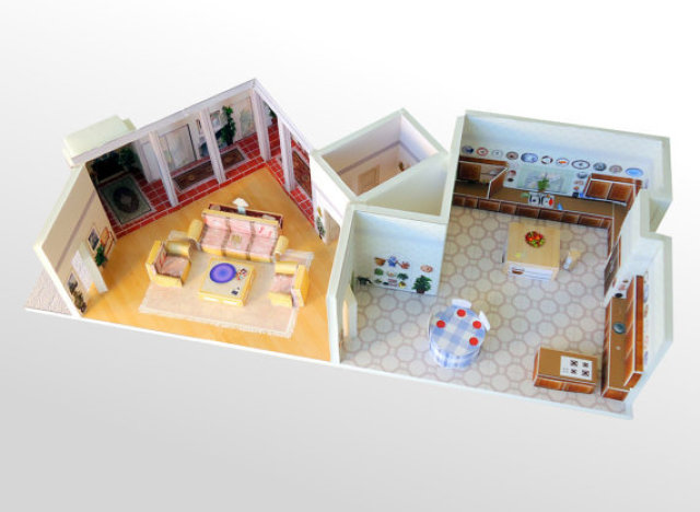 Golden Girls Dollhouse For Sale On Etsy Is A Miniature