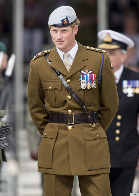 Prince Harry The Pressure S Off Now Huffpost