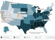 The Happiest States In America In One Map (INFOGRAPHIC)