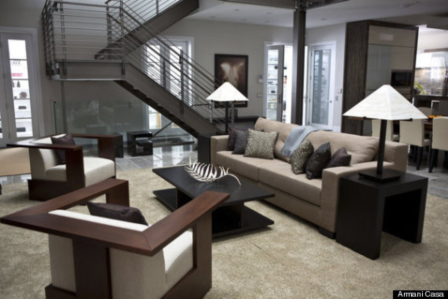 Armani casa giorgio armani 39 s decor line to be featured in new thriller 39 paranoia 39 photo - Armani casa espana ...