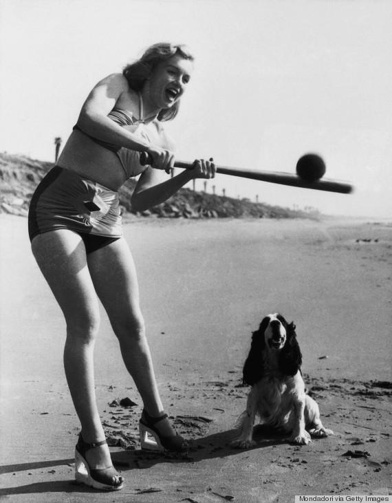 Marilyn Monroe S Dog Hugo