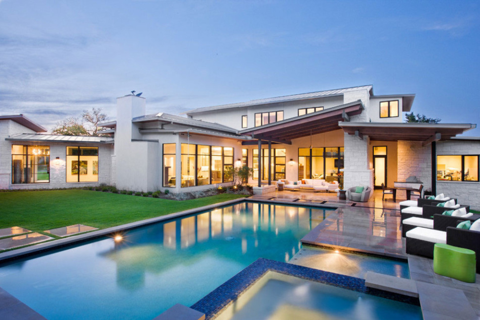 Beautiful Modern Homes Designs: Blanco House In Austin, Texas Is One Bright And Beautiful