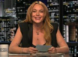 Lindsay Lohan Slams Kristen Stewart On 'Chelsea Lately'