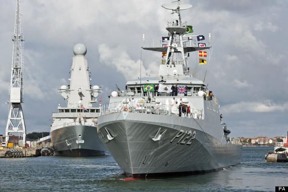 brazil navy