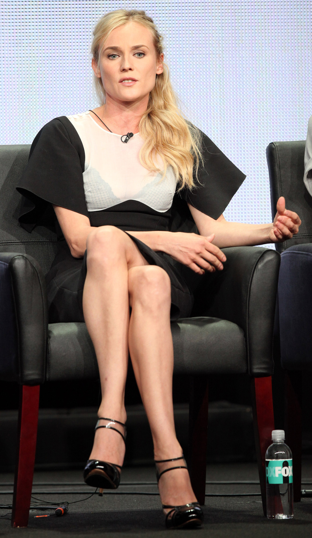 Diane Kruger S Dress Puts Actress Bra In The Spotlight