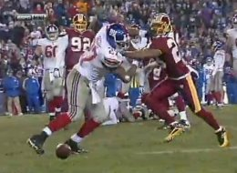 Giants Redskins Fight Video