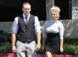Britney Spears Wears Minidress To Church
