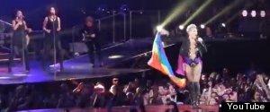 Pink Lesbian Gay Pride