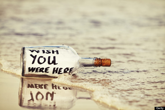 beach sad