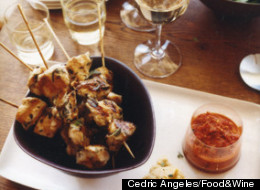 Recipe Of The Day: Chicken Skewers