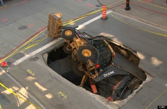 montreal sinkhole