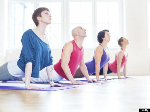 12 Yoga Poses To Undo Your Desk Job