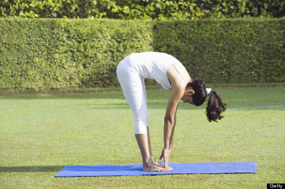 yoga forward bend