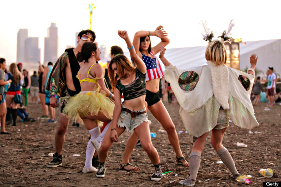 HARD Summer Festival Style From Los Angeles 2013 (PHOTOS, NSFW
