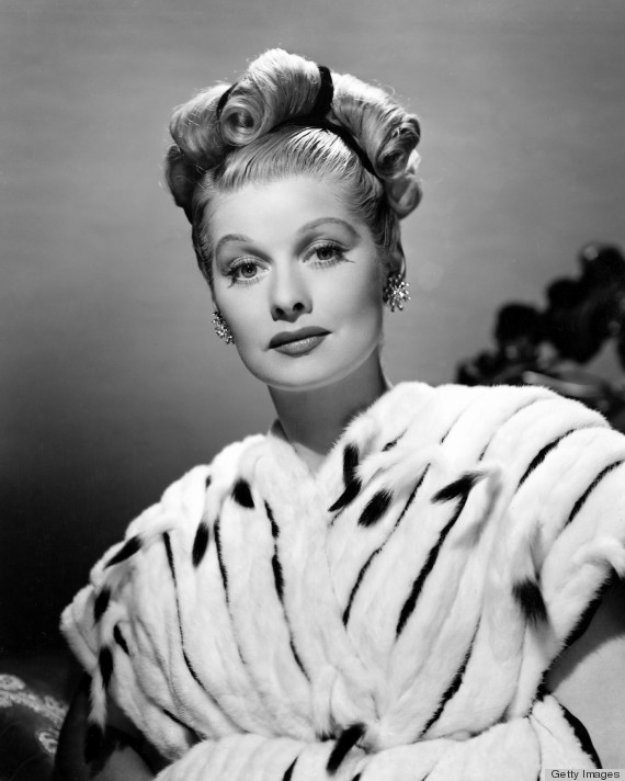 Lucille Ball's Retro Beauty Look Is No Laughing Matter