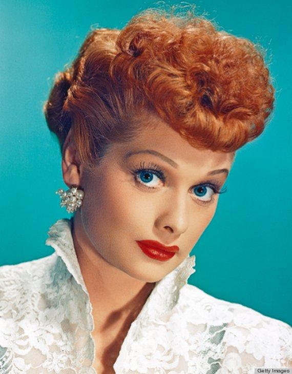 Lucille Ball natural hair