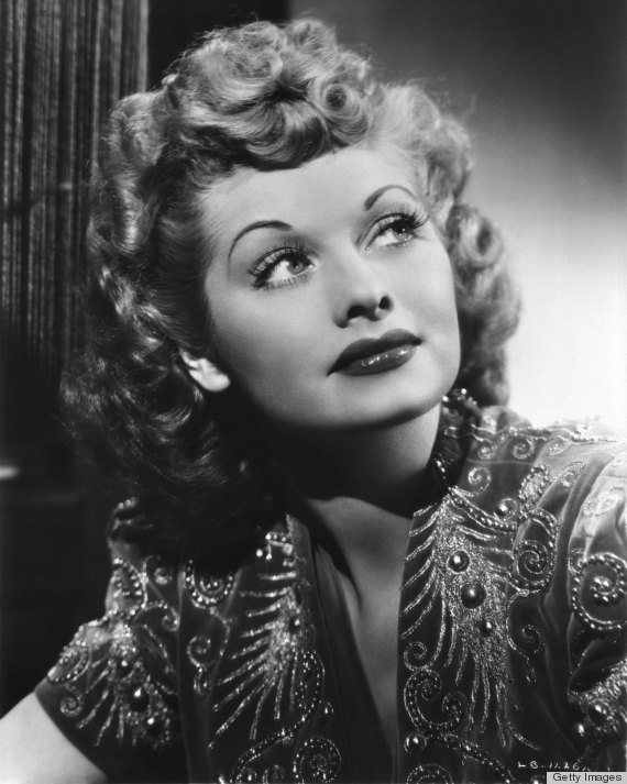Lucille Ball S Natural Hair Color