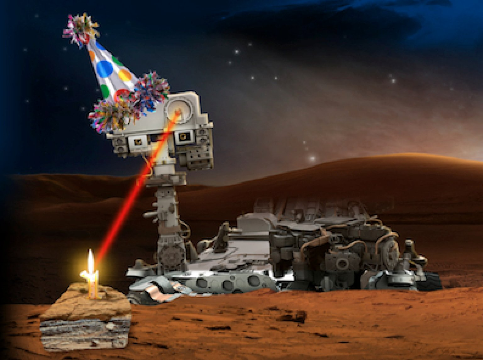 birthday of mars rover -#main