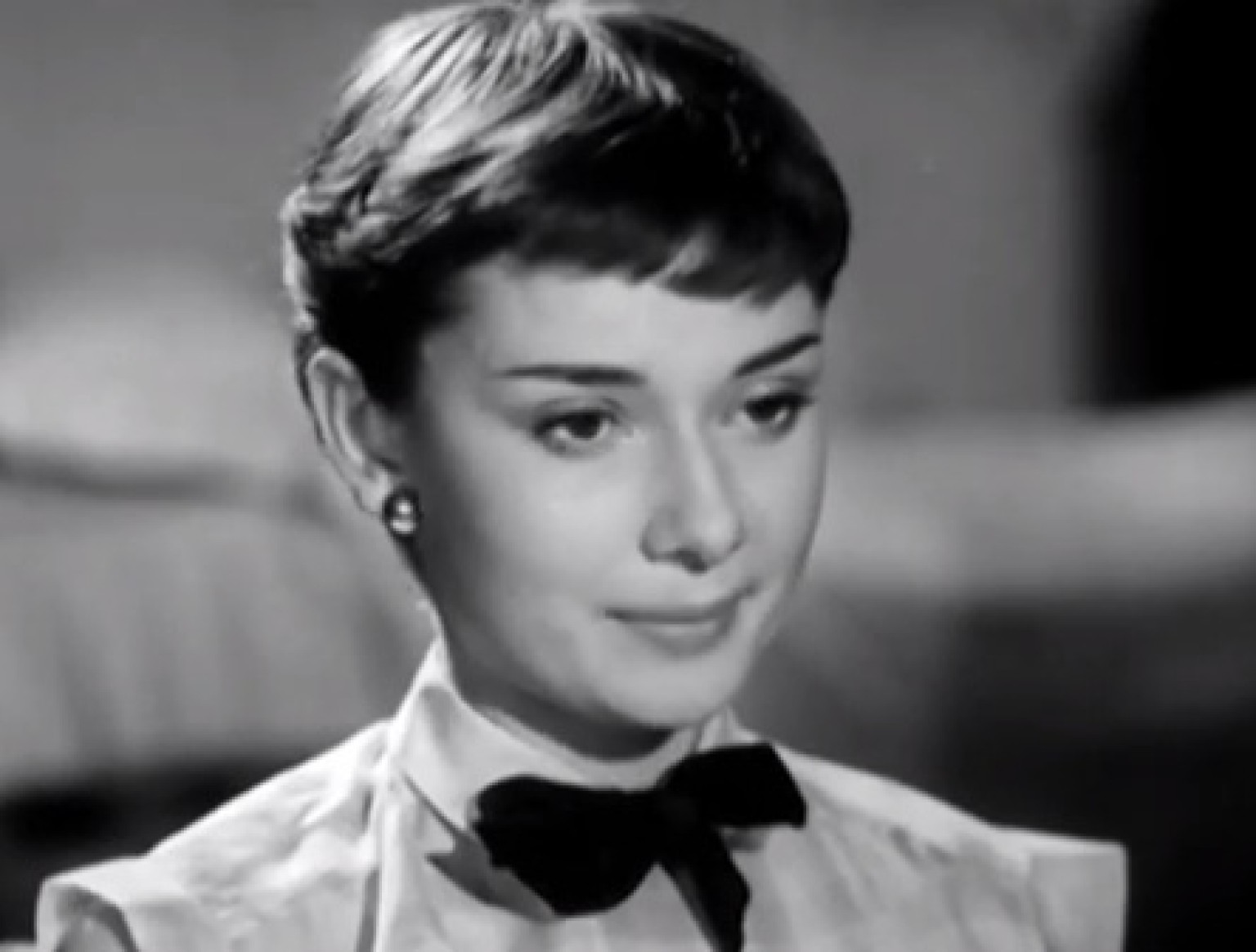 Audrey Hepburn Haircut Roman Holiday