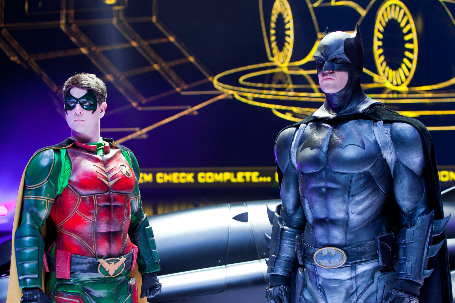 Is batman and robin gay