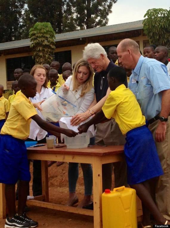 bill chelsea clinton rwanda