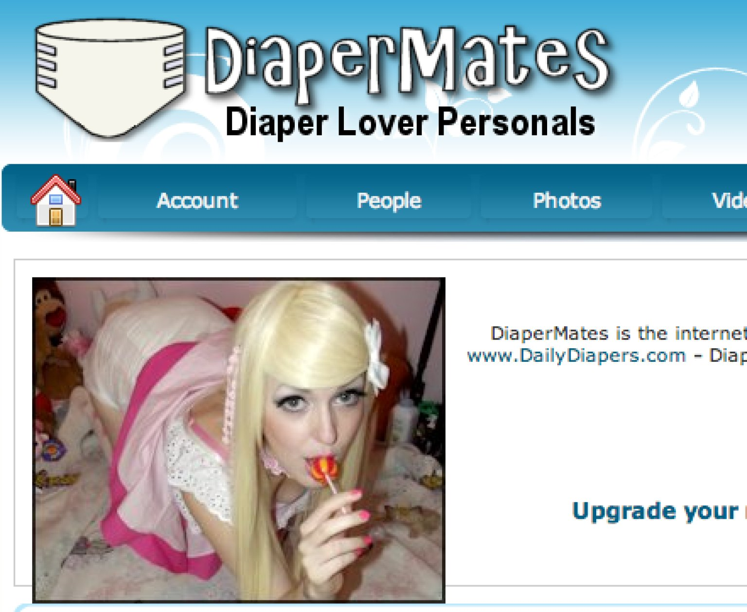 Adult diaper dating sites