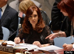 Cristina Kirchner Reasserts Argentina's Claim Over Falklands At UN