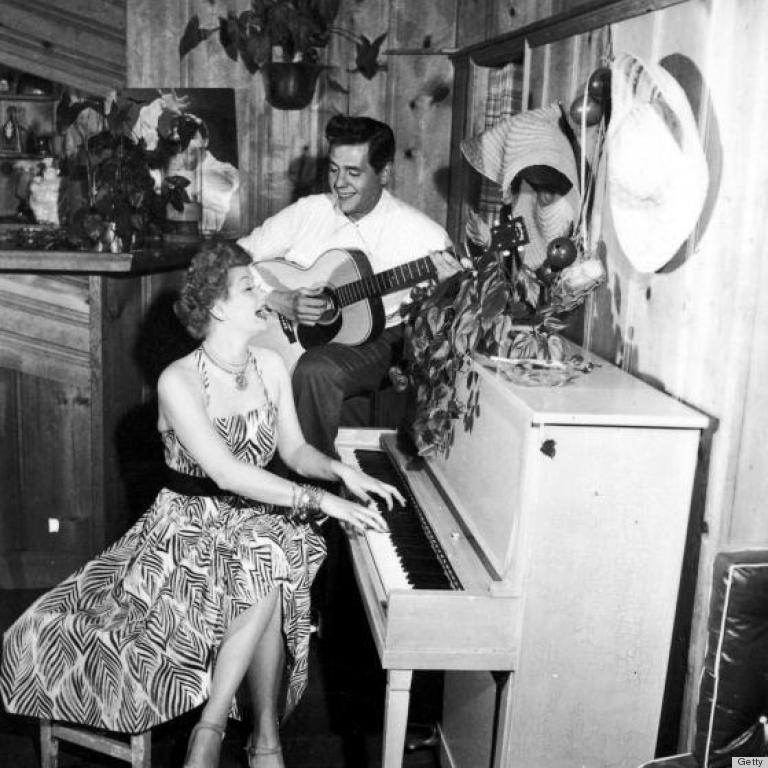 A rare look inside desi arnaz lucille ball 39 s home in the for How tall was lucille ball and desi arnaz