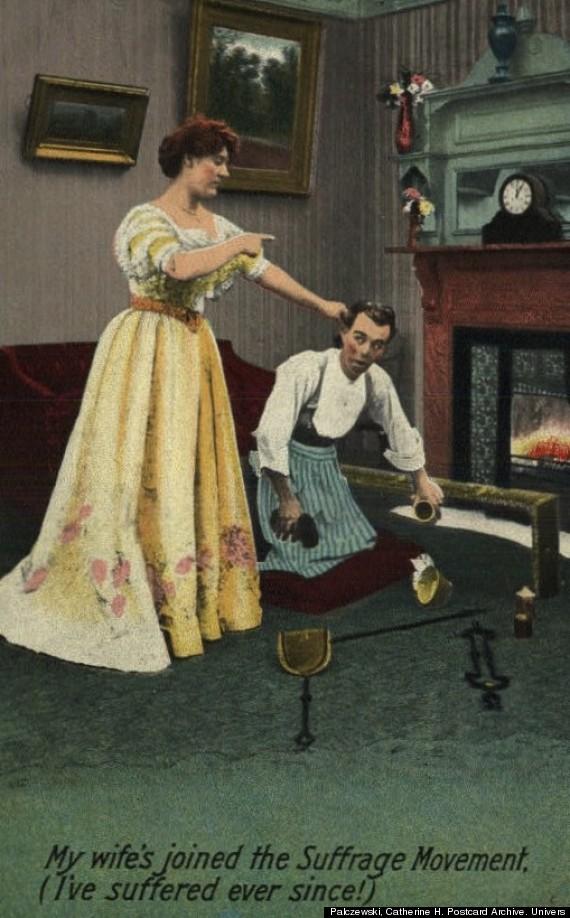 antisuffragette postcard