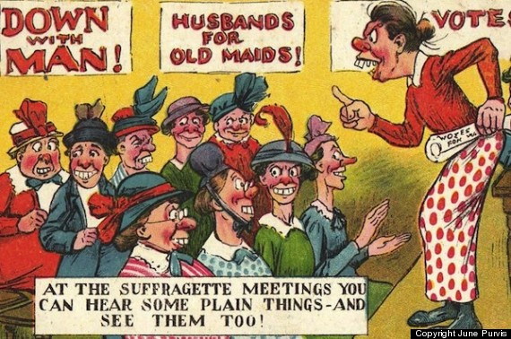 suffragette meetings