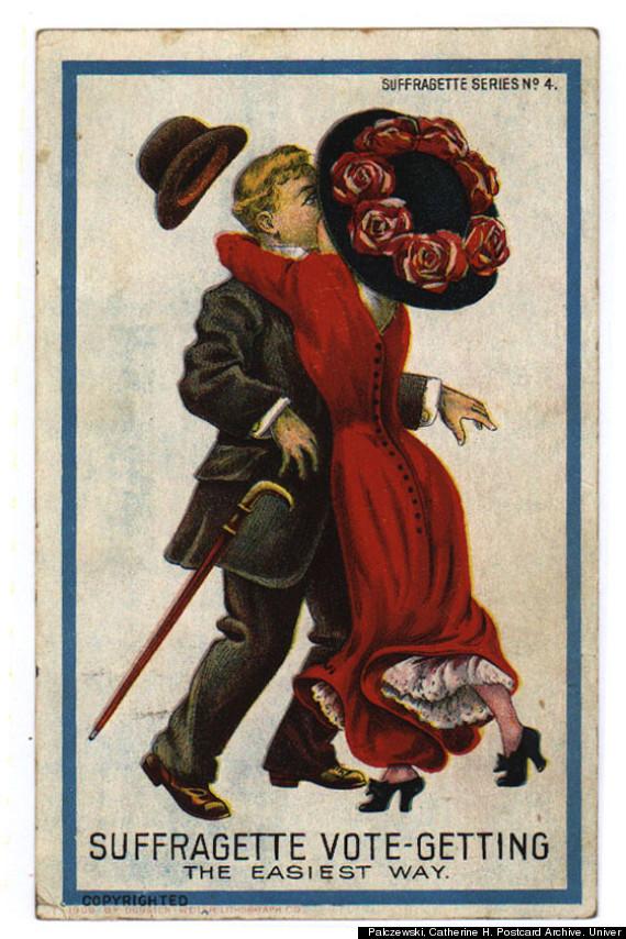 suffragette vote getting