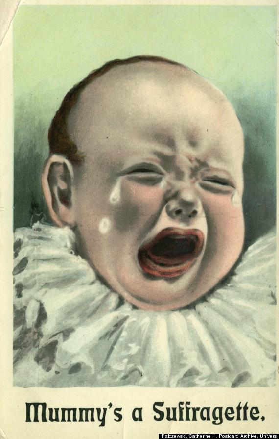 mummys a suffragette