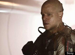 EXCLUSIVE CLIP: Matt Damon Stars In 'Elysium'