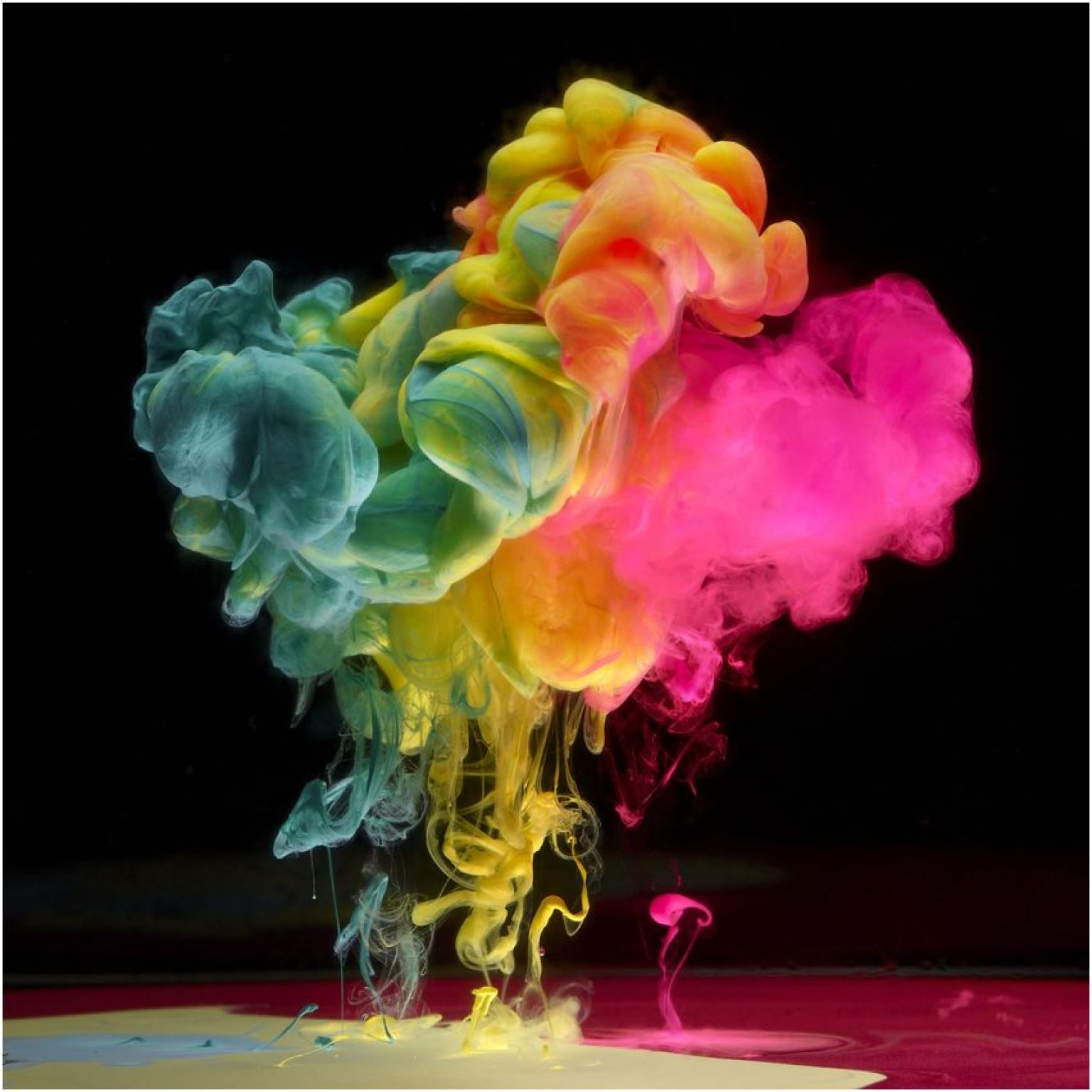 Formal Elements Colour : Photos aqueous une explosion de couleurs sous marines