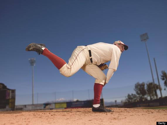 retro baseball color